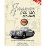 Jaguar XK140 Explored by Bernard Viart (In English) UPDATED STD EDITION